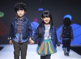 上海时装周童装秀场难上台面