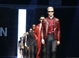 宁波国际时装周:杉杉男装大秀演绎法式优雅