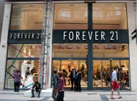 香港零售业遇寒流 租金砍半仍难留Forever21