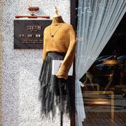 速品衣  冬日高领毛衣搭配法则
