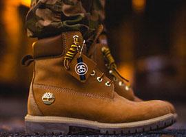 1800双出口假冒Timberland品牌鞋被销毁
