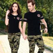 陆海空品牌军绿色情侣装 打造军旅休闲服饰的浪漫