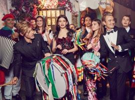 Dolce&Gabbana杜嘉班纳2017春夏广告大片来袭