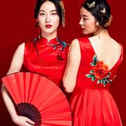 蔓楼兰女装旗袍新款 演绎美到窒息的中国风~