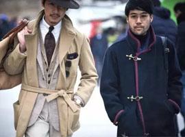 """意大利佛罗伦萨男装展上的""""老孔雀""""和新时髦们"""