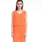 优雅时光品牌女装,打造适合春天的雪纺连衣裙