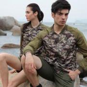 战地军旅休闲风服饰 带来超不一样的迷彩新风尚