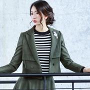 雅奴天使女装 墨绿色让你更优雅