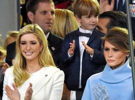 特朗普就职典礼家族穿的都是美国品牌 体现美国优先