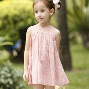 茶子树童装春款连衣裙来袭 春季小女孩的时尚穿搭
