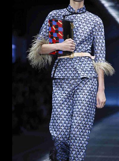 2017春夏米兰时装周 普拉达 (Prada)女装发布(图4)
