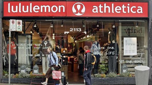 Lululemon将推男装 未来希望男装带来40%的收入