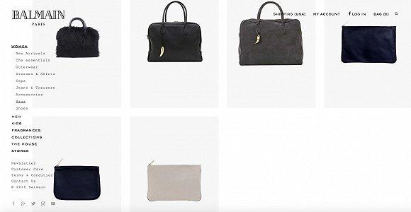Balmain欲加大手袋及配饰方面开发力度 扩充产品线