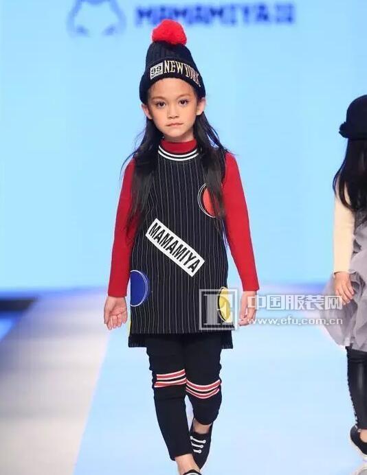 玛玛米雅潮童品牌秀亮相深圳精英儿童模特大赛!