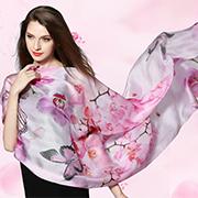 EFOCUS伊点:秋天,当丝巾和风景相爱了