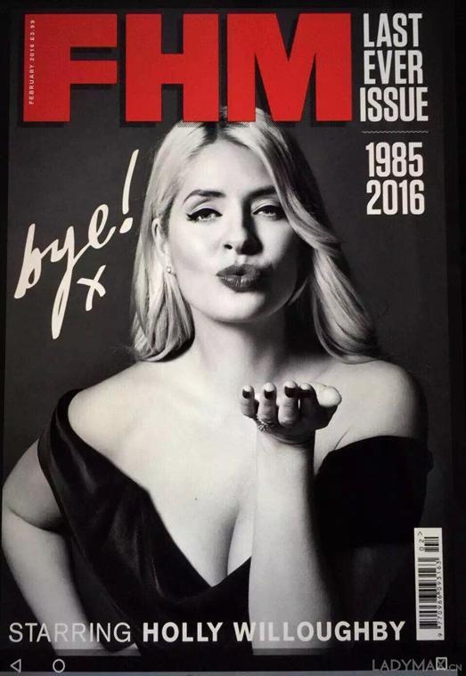 出产最性感女性榜单的杂志《男人帮》也停刊了