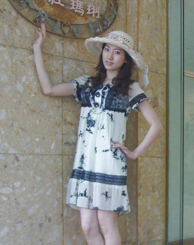 粉红玛琍女装92691款
