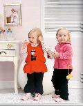 双子星童装92404款
