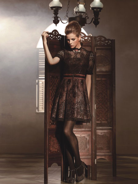 现代女装背景图片素材