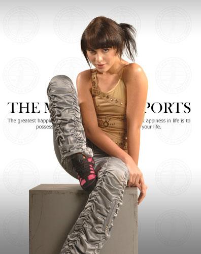 奇鹭运动鞋105540款