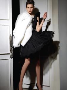 依奴珈Enaga2012皮草服饰样品皮草女装外套款式
