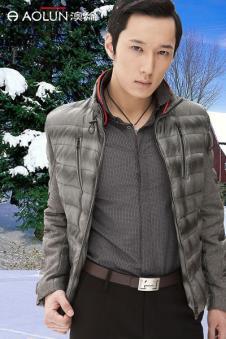 奥伦AOLUN APPAREL男装品牌样品外套款式