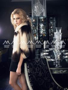 西曼ximan2012皮草服飾樣品皮草女裝外套款式