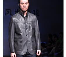麦克顿MKD皮草服饰样品皮革男装外套款式