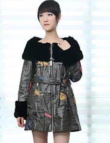 歐闊100%2010皮草服飾樣品裘皮外套款式