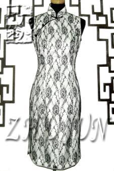 竹筠旗袍女装服饰样品