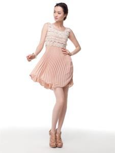 清逸一枝秀QYZX女装服饰样品女装连衣裙款式