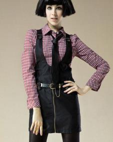 千黛百合pdbh2013年女装服饰样品连衣裙款式