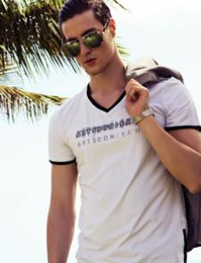 阿仕顿ARTSTON2012男装服饰样品男装T恤款式