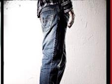 Edwin2013春夏休闲装牛仔裤
