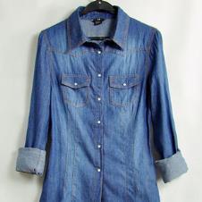 Lee2013春夏休闲装牛仔衬衫