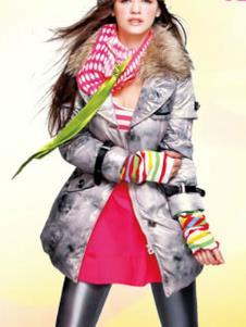 鸭宝宝YABAOBAO2013冬季羽绒服样品 羽绒服