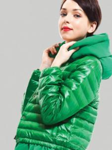 庄驰ZC2013冬季女士短款羽绒服样品