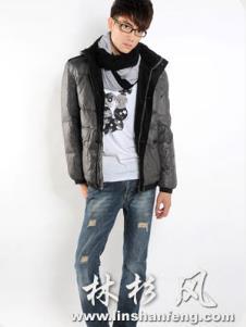 林杉2013冬季羽绒服样品 羽绒服