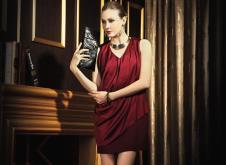 罗伯特 歌美ROBERT GIRME2013皮草服饰样品长裙款式