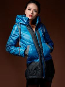 莱迪菲尔RAIDFEEL2013冬季女士短款羽绒服样品