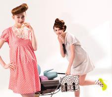 奇妮GENNIE'S2013孕妇装服饰样品 孕妇装