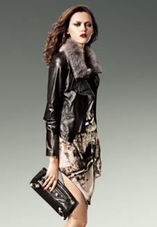 诺之NUOZHI2012皮草服饰样品 裘皮服装