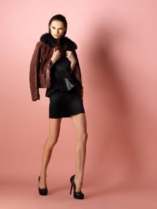 柏丽perlineco2013皮革春装服饰样品外套款式