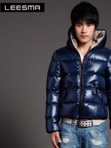 利兹马LEESMA2013冬季男士短款羽绒服样品