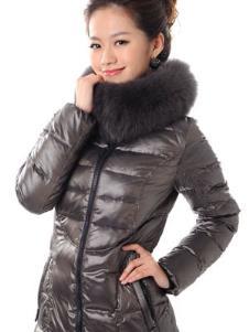 雪多斯XUEDUOSI2013冬季女士长款羽绒服样品