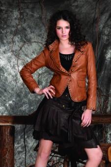 皮气PIQI皮革服饰样品 外套