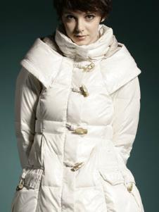 诗梵妮思SURFAIRNESS2013冬季女士长款羽绒服样品