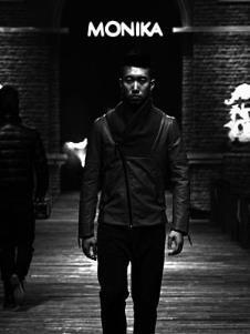 摩尼咔MONIKA2013冬季男士短款羽绒服样品