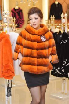 皇室贵夫人HuangShiGuiFuRen2013皮草服饰样品皮草女装款式