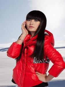 北迪BEIDI2013冬季女士短款羽绒服样品